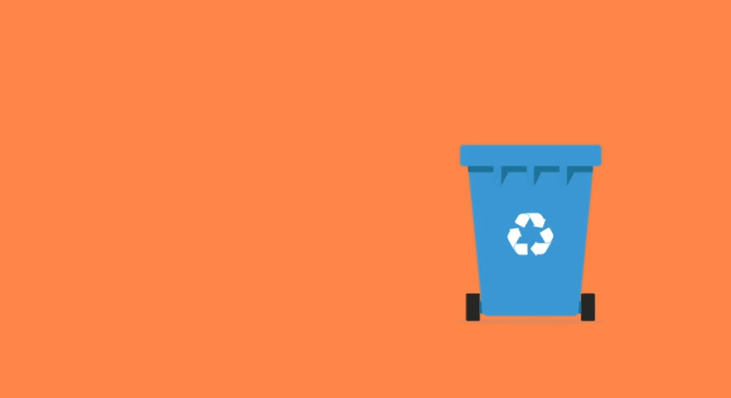 Screenshot of Recycling 101 Video
